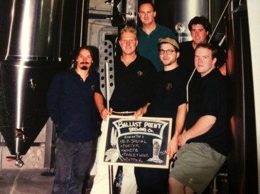 The early team at Ballast Point Brewing